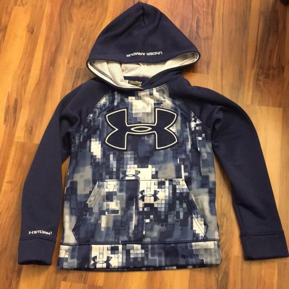 under armor sweatshirts for kids